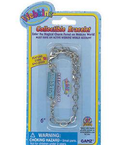 Webkinz Collectible CHARM BRACELET - New & Sealed