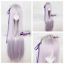 Hot Long Wig for Re:Zero kara Hajimeru Isekai Seikatsu Emilia Anime Cosplay Wig
