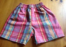 Shorts 18 Months. Girls Or Boys Cotton. Gorgeous Check. Tartan Pattern