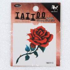 Rose Tattoo Body Art Temporary Tattoos Sticker Men and Women Waterproof