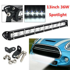 Universal 13inch 36W 12 LED Light Bar Off-Road Combo Driving Lamp Work Spotlight