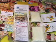 Frucht neutral Eispulver f. Haushaltseismaschine, Eis selber machen, Eismaschine