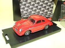 PORSCHE 356 CARRERA 1952 Rouge BRUMM R208 1:43