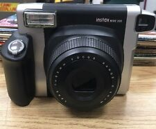Fujifilm Instax Wide 300 Instant Film Camera (Black) Camera Only WORKS Cheap