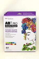 New Tombow ABT Pro Nature Palette Markers, Alcohol Based, 12