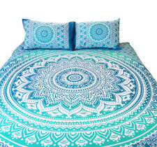 Indian Duvet Doona Mandala Hippie Bohemian New Quilt 2 pillow Cover Blanket~20