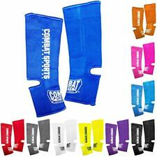 "Mma Muay Thai Ankle Support Wraps Sports "" Outdoors Shin Guards Protective Gear"