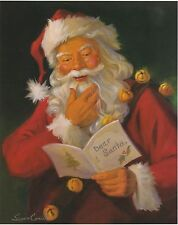 "8x10 Santa, Christmas Print ""Dear Santa"" by Susan Comish"