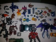 Transformers mixed lot. Tons Of Parts And Figures. Lot 113