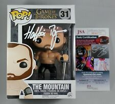 HAFTHOR BJORNSSON SIGNED THE MOUNTAIN GAME OF THRONES FUNKO POP FIGURE THOR JSA