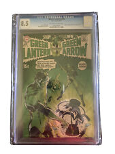GREEN LANTERN #76 CGC 8.5 GREEN ARROW NEAL ADAMS !! Off White To WHITE PAGES!