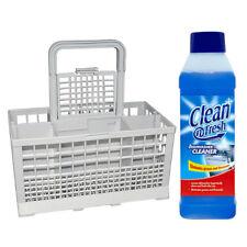 Tricity Bendix BK200B BK200W BK205B Dishwasher Cutlery Basket + Cleaner