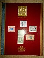 Stamp Auction Catalog 1994 Ivy Shreve & Mader Philatelic Autographs Postcards NY