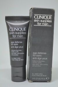 Clinique Skin Supplies for Men Age Defense for Eyes BNIB 0.5fl.oz./15ml