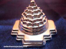 Shri Yantra / Meru Shree Yantra - Made in Pure Parad / Mercury -70 gm~Energized