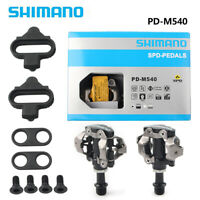 SM Bicycle Cycling PD-M540 SPD Road Bike MTB Clipless Pedals + SM-SH51 Cleats