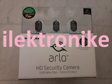 NEW NETGEAR Arlo VMS3330 Smart Surveillance Security System HD Cameras 3 Pack
