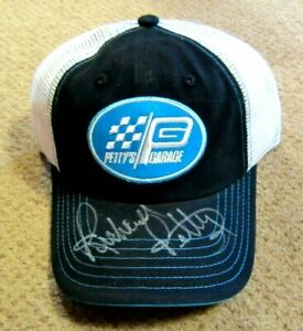 Richard Petty THE KING #43 Petty's Garage Signed In Person Hat - NEW Never Worn