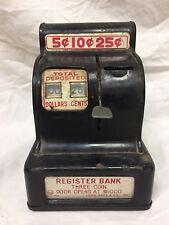 Vintage Louis Marx Cash Register Bank Get Rich Quick Toy