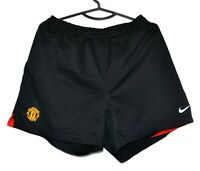 MANCHESTER UNITED 2004/2005/2006 HOME FOOTBALL SHORTS JERSEY NIKE SIZE L ADULT