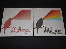 MELTONES   LOT DE 2 CD PROMO   EP N°1 + NEARLY COLORED   2010 / 2011