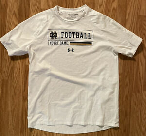 Notre Dame Football Team Issued Under Armour Shirt #60 On Back 2XL New