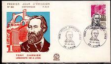 FRANCE FDC - 869 1769 2 TONY GARNIER 17 11 1973