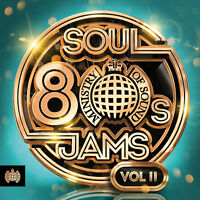 80's Soul Jams Vol II - Ministry of Sound - New 3CD Album - Pre Order 1st Feb