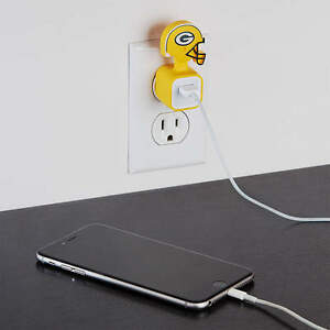 GREEN BAY PACKERS NFL FATHEAD I-Phone IPhone Charger Champ USB Adapter Sleeve