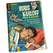 Boris Karloff Tales of Mystery #16  GOLD KEY 1966 Vtg Horror Comic Book Dec