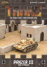 Gale Force Nine Nuevo Y En Caja tanques Panzer III 5cm Tanque de expansión alemán gfntanks 36