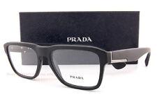 Brand New Prada Eyeglass Frames 04S 04SV 1BO Matte Black Men SZ 53