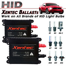 Two Xentec 55W Xenon HID Replacement Slim Ballast H1 H3 H4 H7 H10 H11 H13 9006