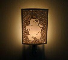 Frosty the Snowman, 1969 Christmas Movie Lithophane Night Light Lamp Decor 000
