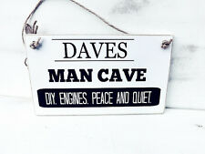 HANDMADE  MAN CAVE SIGN DAD/BROTHER/SON PERSONALISED BIRTHDAY CHRISTMAS GIFT