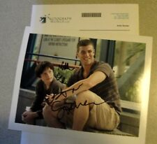 DOLPHIN TALE CAST: AUSTIN STOWELL SIGNED & NATHAN GAMBLE SIGNED 8x10 PHOTO COA
