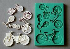 Silicone Mould BICYCLES Sugarcraft Cake Decorating Fondant / fimo mold