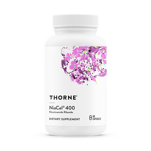 Thorne Research Niacel® 400 (415 mg ) Nicotinamide Riboside NAD 60 capsules