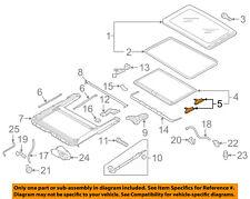 VW VOLKSWAGEN OEM 01-10 Passat Sunroof-Sunshade Guide 4B0877165