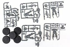 Wh40k Primaris Space Marine Intercessor Squad B set of 5 miniatures on sprue