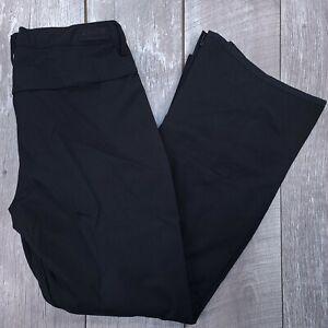 Burton Living Lining Society Tall Snow Pants Womens XL True Black Bootcut J45