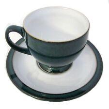 Denby Vintage Original Pottery Cups & Saucers