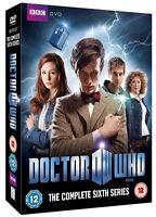Doctor Who Serie Completa 6 Sei Box DVD Set Dr Who BBC Sei 6th Sixth Stagione 6