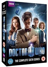 DOCTOR WHO COMPLETE SERIES 6 DVD BOX SET DR WHO BBC  UK Six 6th Sixth SEASON **