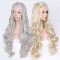 Daenerys Targaryen Cosplay Hair Wig Game of Thrones Dragon of Mother Costume Wig