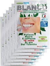 Ricarica Blanco Dent Dentrifricio Senza Fluoro In Polvere Naturale Denti