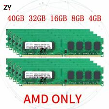 For Samsung 40GB 32GB 16GB 8GB 4G DDR2 PC2-6400U 800MHz AMD DIMM Desktop RAM Lot