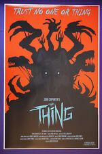 The Thing John Carpenter Kurt Russell Classic Movie Art Poster 24X36 New Thng