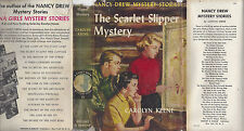 NANCY DREW #32 THE SCARLET SLIPPER MYSTERY w/DJ TRUE 1ST/1ST 1954D-1