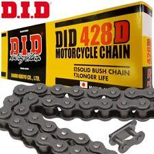 DID 428D Kette 128 Rollen schwarz Clipkette Rollenkette Motorrad Antrieb